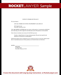 learn more about eviction notice thirty day notice letter