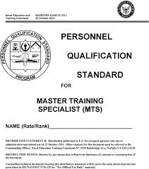 For Master Training Specialist Mts Name Rate Rank Pdf