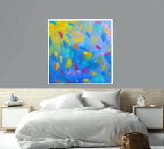 Wall Arts Extra Large Art 60 Red Blue Green Yellow Orange