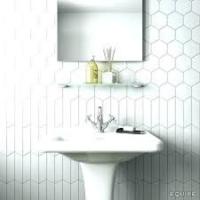 hexagon tile ceramic tile bathroom wall ceramic tiles ceramic tile bathrooms a chevron wall white