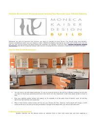Choose your kitchen work Plan