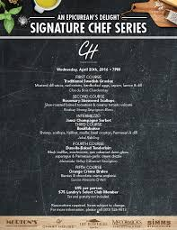 Signature Chef Dinner At The Chart House Lake Tahoe Tahoe