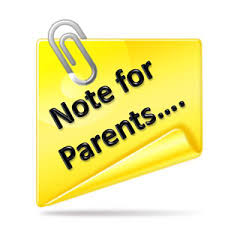 Image result for note to parents images