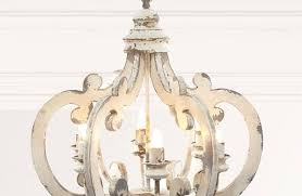 distressed wood chandelier rustic chandeliers french country within white inspirations uk withi
