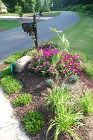 mailbox landscaping with culvert. Brilliant Culvert Mailbox Landscaping Landscapes Lawn And Garden Ideas For Around  Driveway Culvert Inside With