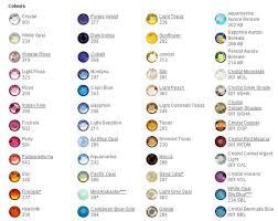 Swarovski Ab Color Chart Swarovski Crystal Color Charts Best Buy Beads