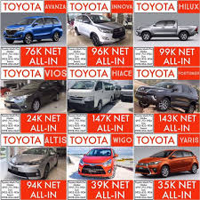 2018 toyota deals.  2018 abot kaya deals 2018 toyota yaris brand new allin promo sale on toyota deals