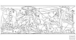 Small Picture coloring pages pablo picasso arts culture Blue Guitar By Pablo