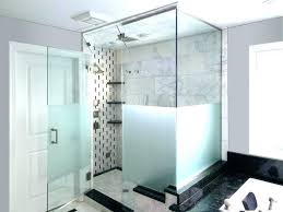 showers etched glass shower doors frosted a comfy co custom design