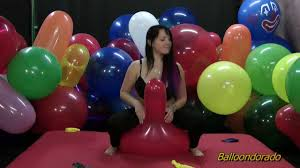 What is balloon fetish