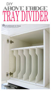 diy tray divider