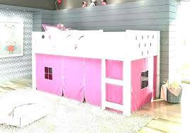 Bunk Bed Tent Canopy Loft Diy Beds Mosquito Net Para La Pink K ...