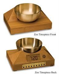 singing bowl alarm clocks for a gentle awakening