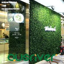 artificial wall plants artificial plant wall hedge mixed plants vertical garden outdoor indoor covering artificial wall