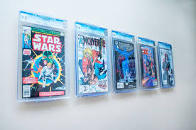 slabbed comic books cgc cbcs pgx wall