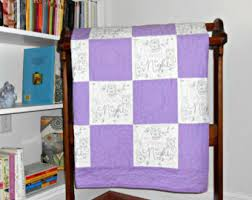 Etsy :: Your place to buy and sell all things handmade & Purple Baby Quilt, Baby Girl Quilt, Purple and White Owl 'Good Night' Adamdwight.com