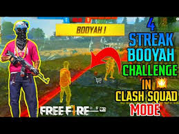 Welcome to the new free tactical shooter game. Free Fire Clash Squad Mode 4 Streak Challenge Solo Vs Squad Best Match Ever Tsgarmy Youtube