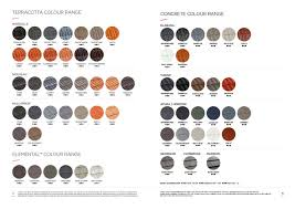 roof tile colour and style chart