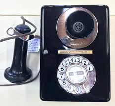 wall telephone metal dial wall phone w wall mounted cordless telephones with answering machine antique wall