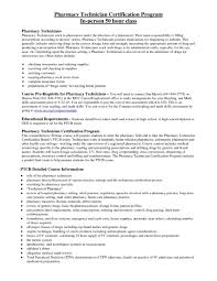 Technician Resume Sample Experienced Pharmacy Template Example Pic