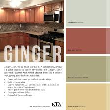 Kitchen Palette Color Palette To Go With Our Ginger Maple Kitchen Cabinet Line