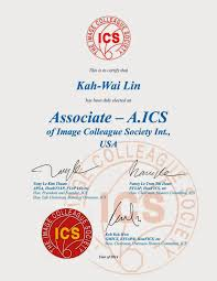 kah wai lin photography associate image colleague society aics following the successful submission of a portfolio of images to image colleague society international ics i am honor to receive the distinction of
