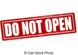 do not open st with text do not open inside vector