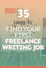 ways to your first lance writing job lance  35 ways to your first lance writing job