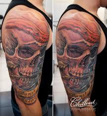 татуировка череп значение фото Chillout Tattoo Workshop