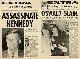 「kennedy assassination newspaper reports」の画像検索結果