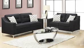 PriceBusters Special Black Sofa & Love Under $500 1110