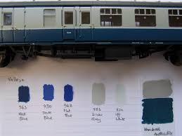 Railmatch Paints Colour Chart Colour Matching Rail Blue Grey Arrivals Departures And