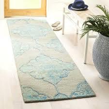 geometric runner rug dip dye handwoven wool modern geometric grey turquoise runner rug geometric pattern runner geometric runner rug
