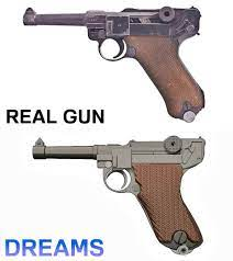 Update: I tweaked my Luger P08 model to make it look better. I think the  result is pretty neat: PS4Dreams