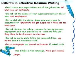 successful resumes examples resume of example a simple how to write s