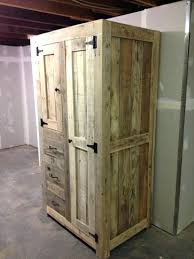rustic cabinet doors. Rustic Wood Storage Cabinet Best Pallet Kitchen Cabinets Ideas On Doors And .