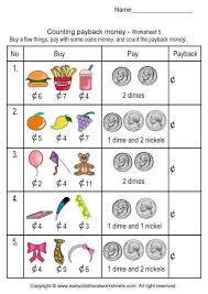 Free Money Counting Worksheets Worksheets for all | Download and ...