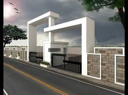 compound wall arch designs