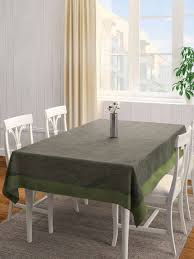 s9home by seasons charcoal grey rectangular 90 x 60 polyester table cover