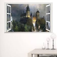 new william old castle 3d window wall stickers mural art pvc decals girls room decor wall stickers online with 4 16 piece on kity12 s store dhgate  on castle wall art mural with new william old castle 3d window wall stickers mural art pvc decals