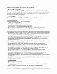 Youth Minister Resume Pastor Resume Template Awesome Youth Ministry Resume Template Youth 1