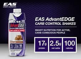 eas advantedge carb control shakes