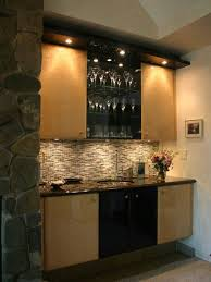 wet bar lighting. Contemporary Kitchen Appliance - Trendy Photo In Other With An Undermount Sink, Light Wood Wet Bar Lighting G
