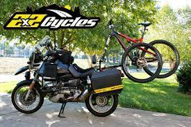 motorcycle bicycle rack supremacy