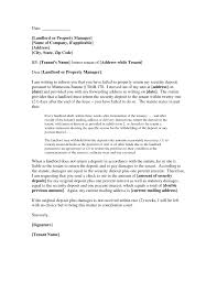refund of security deposit letter to tenants 6