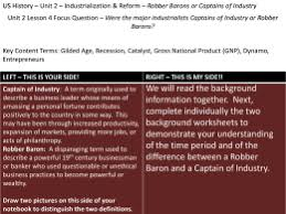 robber barons or captains of industry essay question directions captain of industry or robber baron