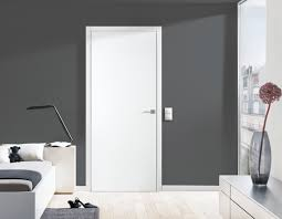 R Fascinating White Door Plain Interior Doors Gallery Glass Door