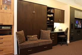 home office with murphy bed. Danville Showroom Wall Bed \u0026 Home Office (w/Wall Bench) Contemporary- With Murphy H