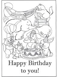 Right now, we propose printable birthday card coloring page for you, this post is related with kids helping coloring pages. Free Printable Happy Birthday Coloring Pages For Kids