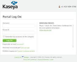 Kaseya Left Customer Portal Vulnerable ...